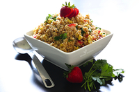 Gluten Free Toasted Quinoa Salad Recipe