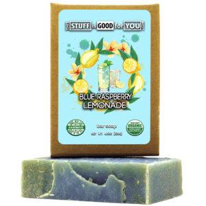 Blue Raspberry Lemonade Bar Soap