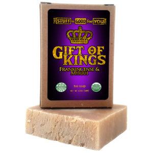 Gift of Kings Frankincense Myrrh Bar Soap