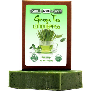 Green Tea Lemongrass Bar Soap