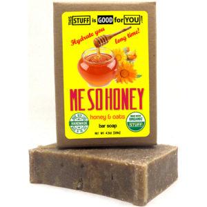 Me So Honey & Oatmeal Bar Soap