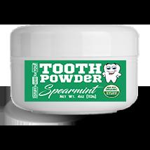 2.5oz Fluoride-Free Spearmint Tooth Powder