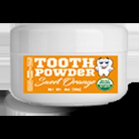 2.5oz Fluoride-Free Sweet Orange Tooth Powder