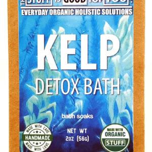 2oz Organic Kelp Detox Bath Soak